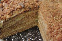 Recipes: Cake - Honey