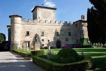 A castle for a fairy tale wedding / Tuscan Castle for a fairy tale wedding