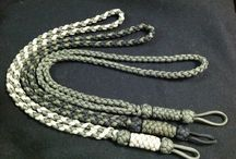 Paracord / Crafts made from paracord   / by Shane Ede