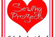 Valentine's Day Sewing / Here are some Valentine's Day sewing ideas.