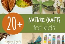 preshool nature crafts