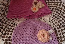 Crochet / Általam készített horgolt holmik .