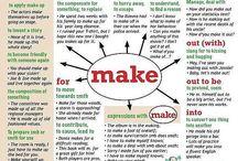 Phrasal verb make