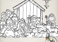 True Love Was Born / More wonderful Christmas inspired kits from Paty Greif.