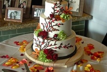 Cakes: Brown/Neutral Wedding / NOT my work. Just gorgeous cakes I love. / by Sheena House