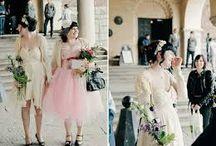 vestidos novia parejas lesbiana