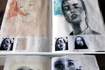 Sketchbook / a01 a02 a03 gcse art