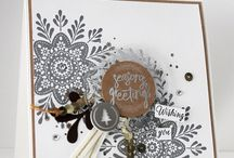 stampin up make a medaillon