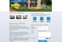 Unismini webdesign / Ukázka grafických prací, webdesign, tvorba www stránek, web design, unismini