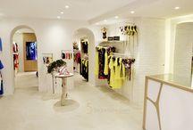 Bayan Giyim Duvar Raf Sistemleri