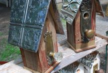 Birdhouses / Fågelhus / Beautiful birdhouses