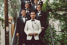 Groom Stand Out Look / Inspiration for groom looks the stand out from the groomsmen.