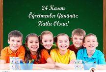 Öğretmenler Gününüz Kutlu Olsun. / 21-24 Kasım Tarihleri arasında Öğretmen Kimliği ile Danışma Noktasına gelen tüm Öğretmenlerimize Menü Hediye
