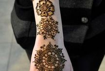 Henna Tattoos and/or Designs