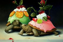 Черепахи / by Mari Juravsky