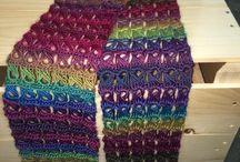 Crochet Scarves/Scarves