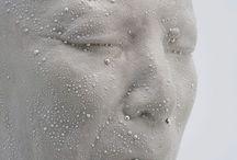 Porcelain Sculpture / Porcelain sculpture