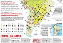 mapas latinoamerica