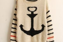 Sweaters!!!❤️ / Anchor sweaters!!! / by Lauren Chittam