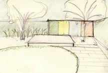back yard sketch book / by Peggy Bennett