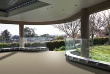 Private Residence - Auckland New Zealand / Curved Toughened Glass