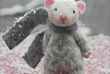Nora Mouse & Needle felting