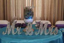 Bryllupsdekorasjoner