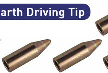 Copper Earth Driving Tip
