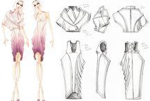 Kıyafet çizimleri