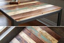 recycled kitchen tables