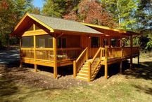 Laurel Escape Cabin / Attention couples! If you are looking for that perfect romantic getaway, or honeymoon paradise, we have the cabin for you! Laurel Escape is a brand new, custom built, luxury cabin that will give you all the privacy you need to leave the real world behind.