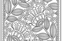 Patterns Coloring pages free online / Free coloing pages online at: http://magiccolorbook.com/category/patterns-for-adults/
