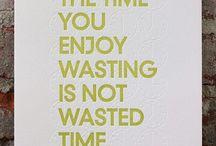words to live by / by Zoë Nykaza
