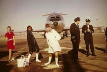 *mother's stewardess days*