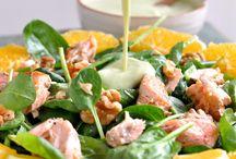 Low carb salade en soep