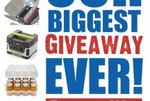 Food Storage SALES and Giveaways / All the latest sales and giveaways on food storage and preparedness products. / by Food Storage Made Easy (Jodi and Julie)