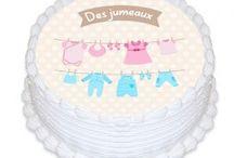 Déco Gâteau Baby shower