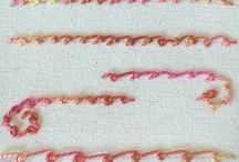 Embroidery Tutorials and designs / I'm trying to relearn what I knew and learn more. There are an amazing number of stitches and variations on stitches!