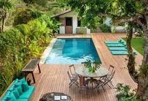 Pool deck ideas!