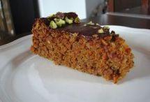 mrkvový  dort bez mouky