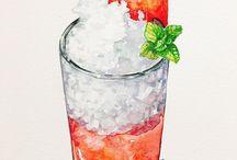 illustration(food)