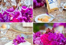 Purple Weddings by Wynn Austin Events / Weddings with purple in the color palette