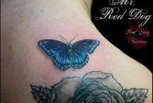 Tatouage papillon