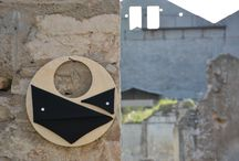 Circular Wooden Bags, by Anna Moraitou / Unconventional and Contemporary wooden accessories