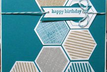 Hexagons and Hivelets / Stampin up