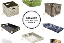 I Love Organizing Items / Products that will help you get and stay organized. www.ILoveOrganizedSpace.com/#!myfavorites