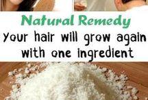 Natural hair loss remedies / Beauty/Home
