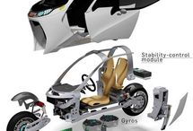 Electric scooter design concepts