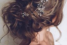 Wedding hair/dress