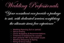 Wedding Professionals / Planners, Consultants & Designers,